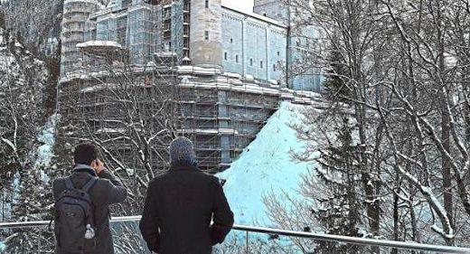 Neuschwanstein Baustelle